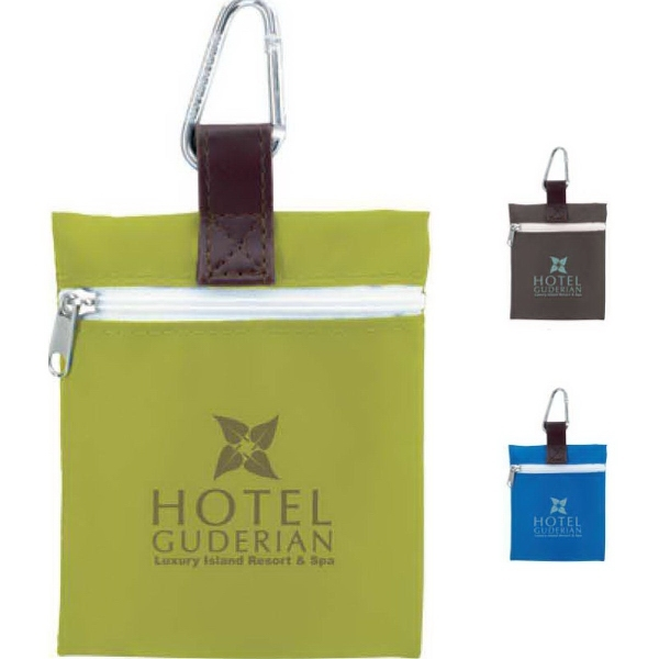Vertical Strap Tee Pouch