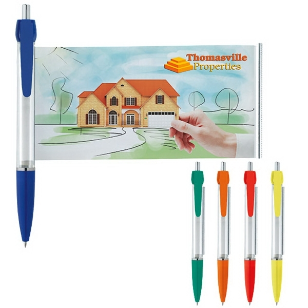 Solid Colored Banner Pen
