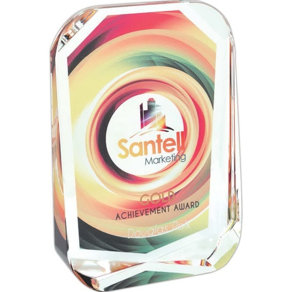 Beveled Corners Award - Small