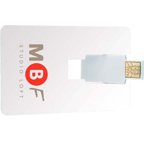 1 GB Flip Card USB 2.0 Flash Drive