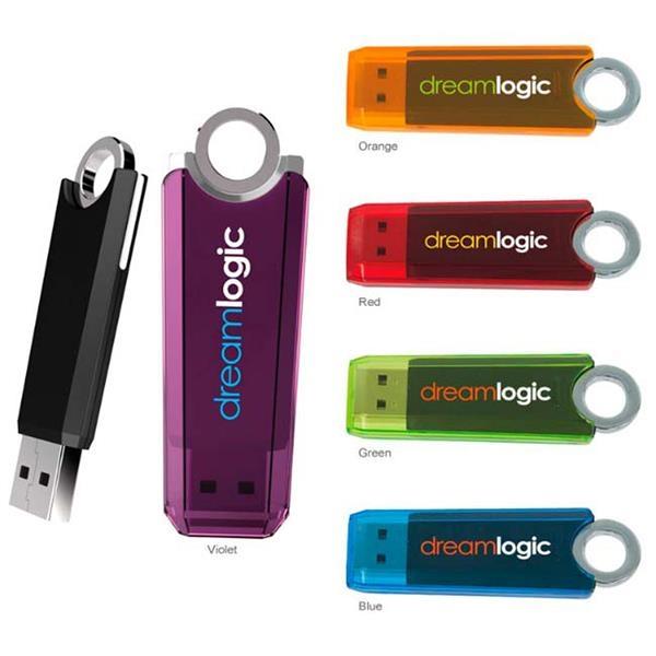 512 MB Ring USB 2.0 Flash Drive