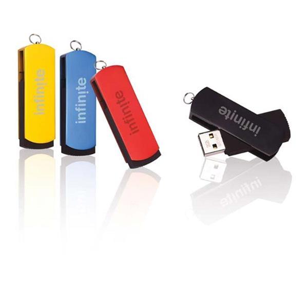 2 GB Slide USB 2.0 Flash Drive