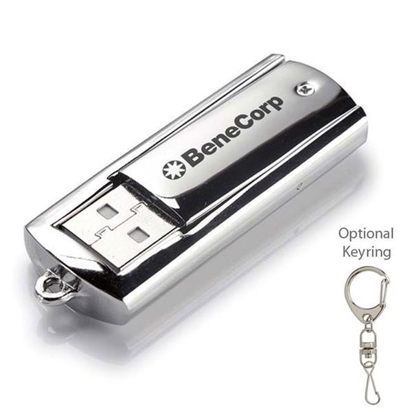 8 GB Metal USB 2.0 Flash Drive