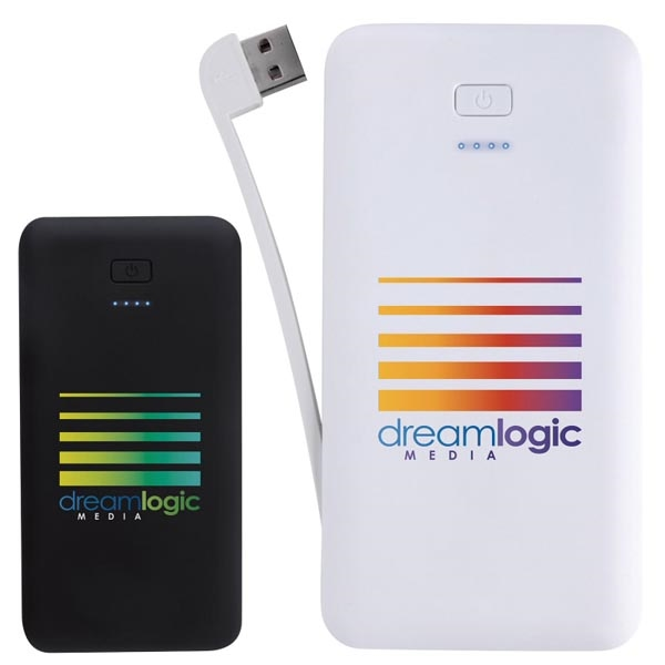 2-in-1 Wall Charger Power Bank 3000 mAh