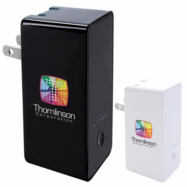 Portable Plug Power Bank Wall Charger 2500 mAh