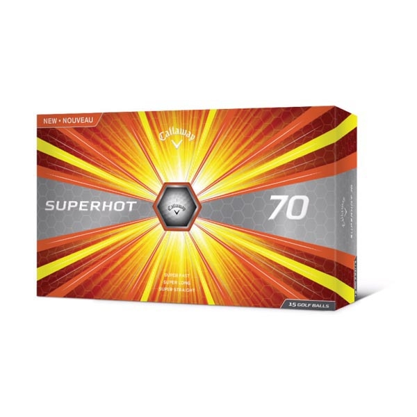 Callaway® SuperHot 70 15 ball pack