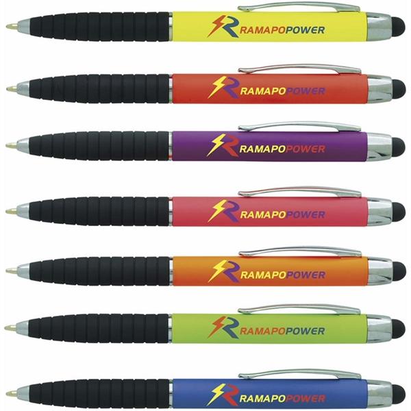 Neon Cool Grip Stylus Pen