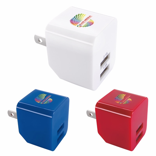 2 Port 2.1A Wall Adapter