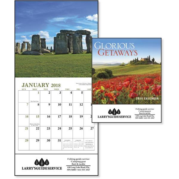 Glorious Getaways Mini Appointment Calendar