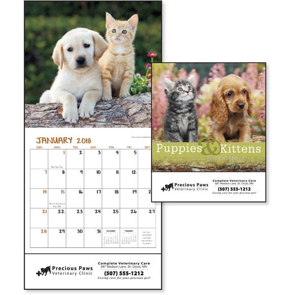 Puppies & Kittens Mini Appointment Calendar