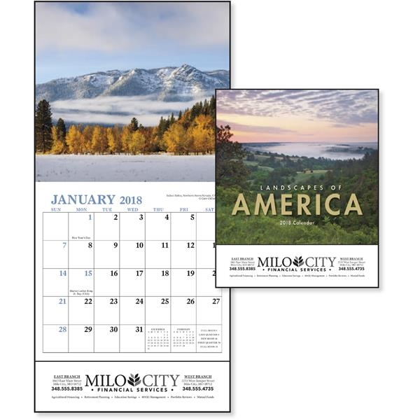 Landscapes of America Mini Appointment Calendar