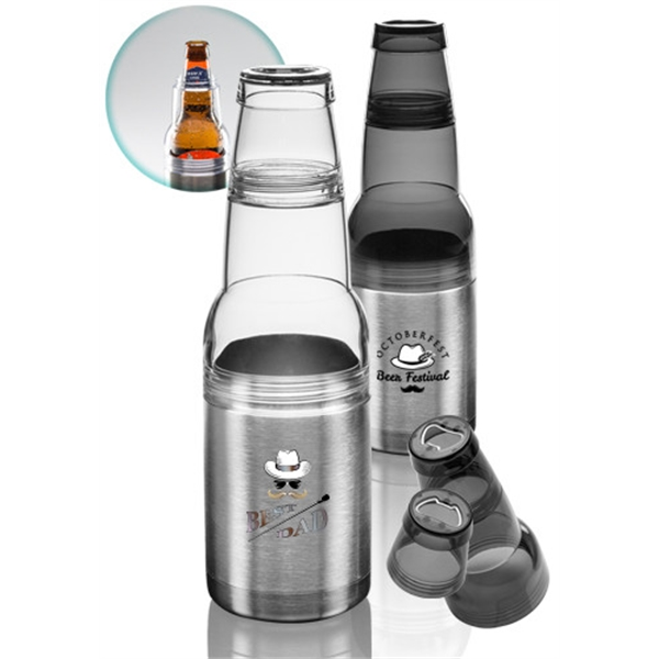 12 oz Mako Stainless Steel Bottle-Can Holder