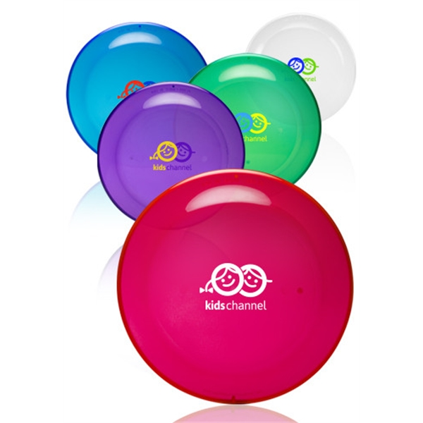 9.25 in. Tranlucent Color Flying Discs