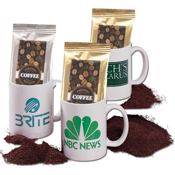 11 oz Ceramic Mug with Coffee