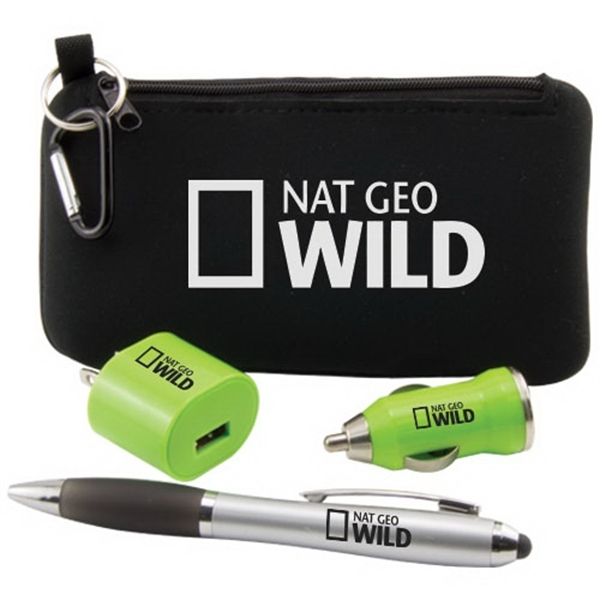 Premium Tech Travel Holder Kit