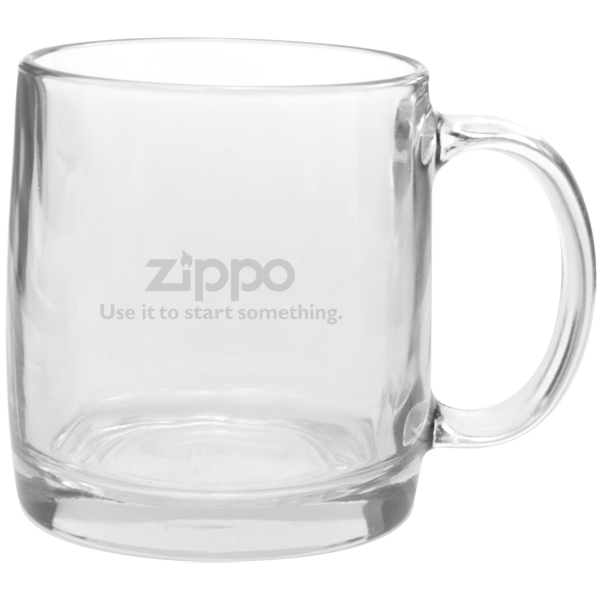 Etched Nordic 13 oz Glass