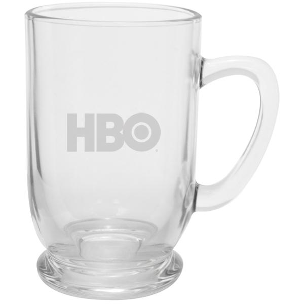 Etched Bolero 16 oz Glass