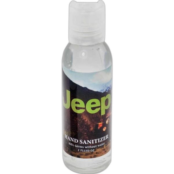 2 oz Round Bottle Hand Sanitizer Gel