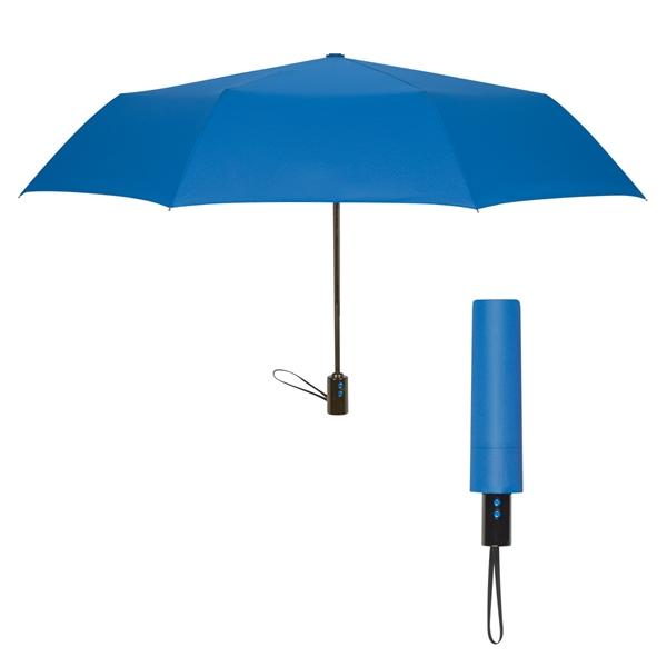 "43"" Gianna Telescopic Folding Umbrella"