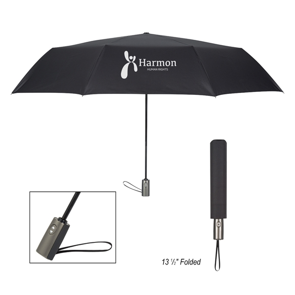 "54"" Arc Telescopic Folding Colossal Umbrella"