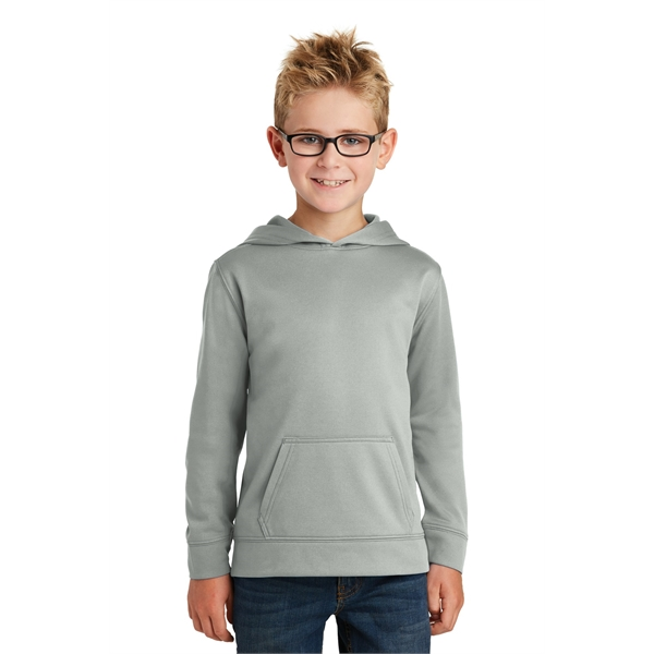 Port & Company Youth Performance Fleece Pullover Hooded S...