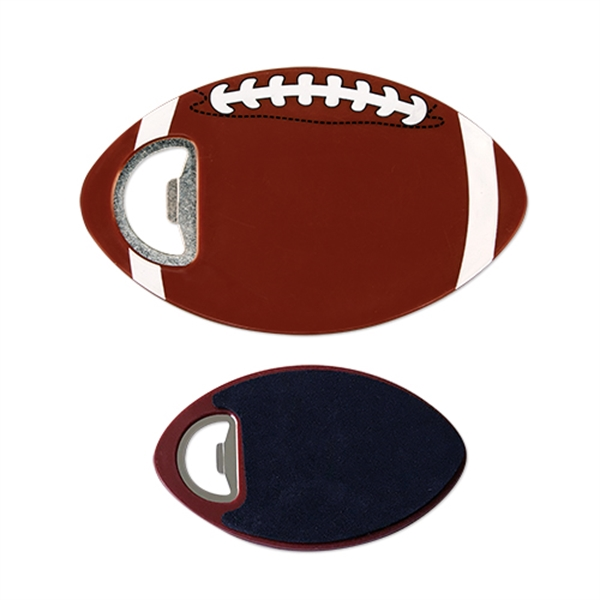 Sports Football Coaster Bottle Opener