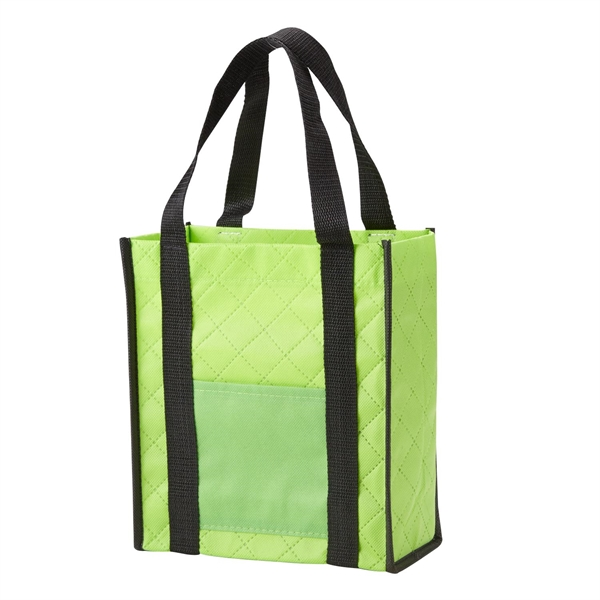 Quilted Non-Woven Gift Tote-Closeout