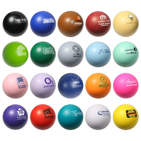 Custom Round Stress Ball