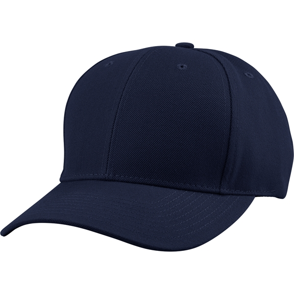 6 Panel Structured Mid Crown Cap