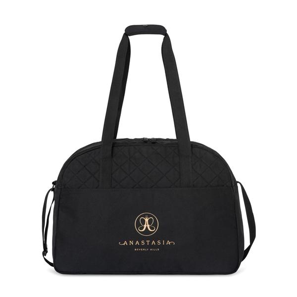 Madeline Quilted Weekender Bag