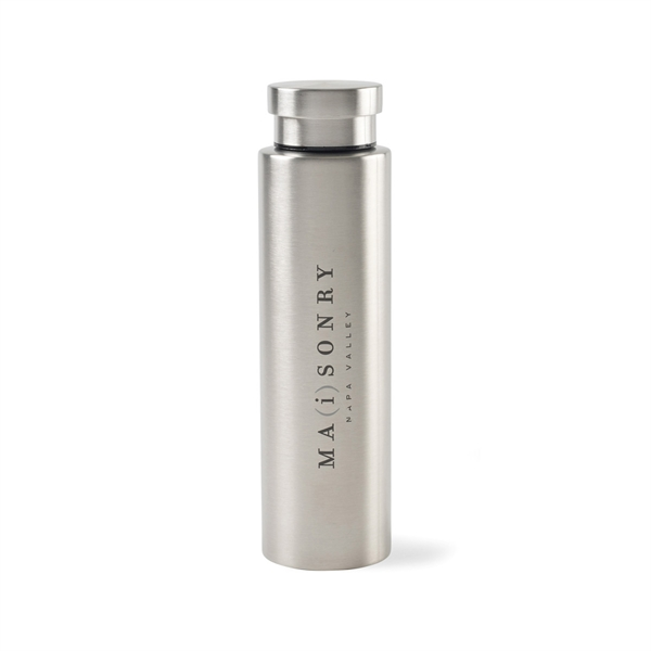 Napa Double Wall Stainless Wine Canteen - 25 Oz.
