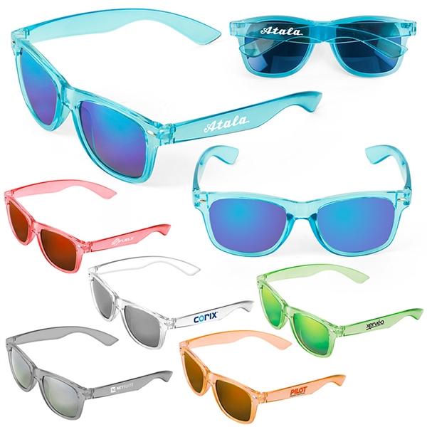Waikiki Mirrored Tonal Sunglasses