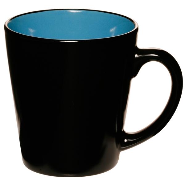 Two Tone Latte Mug, 12 oz