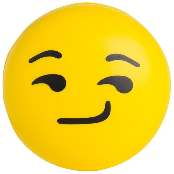 Emoji Squeezies® Smirk Stress Reliever