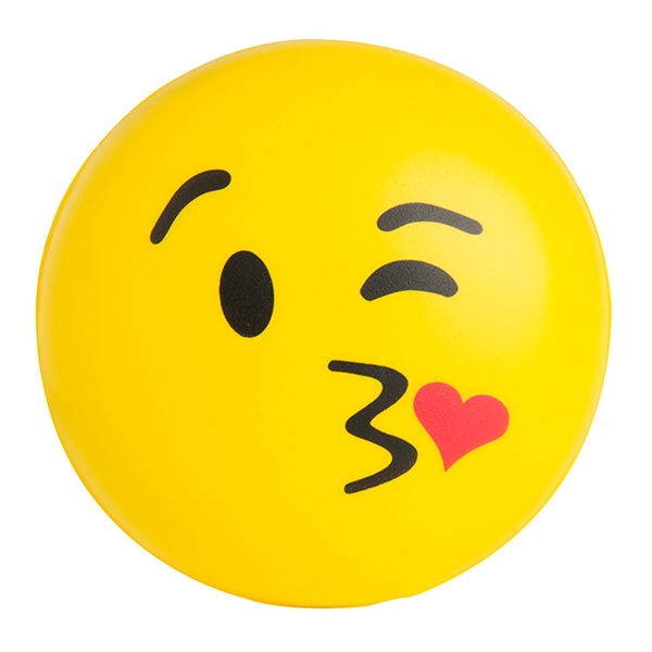 Emoji Squeezies® Kiss Kiss Stress Reliever