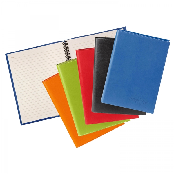 COLORPLAY LEATHER COVER & REFILLABLE JOURNAL