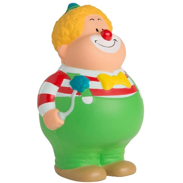 Squeezies® Clown Bert™ Stress Reliever