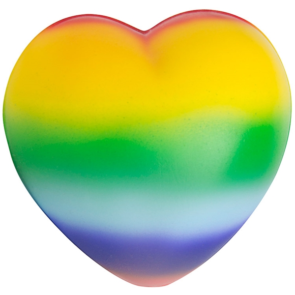 Squeezies® Rainbow Sweet Heart Stress Reliever
