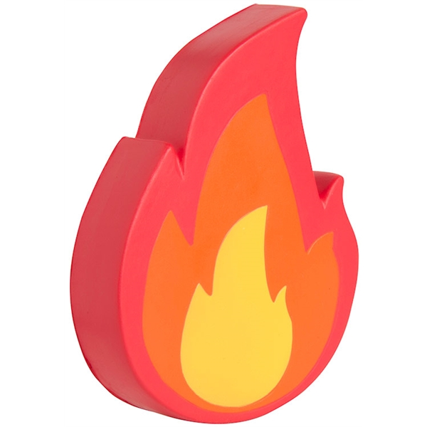 Fire Emoji Squeezies® Stress Reliever