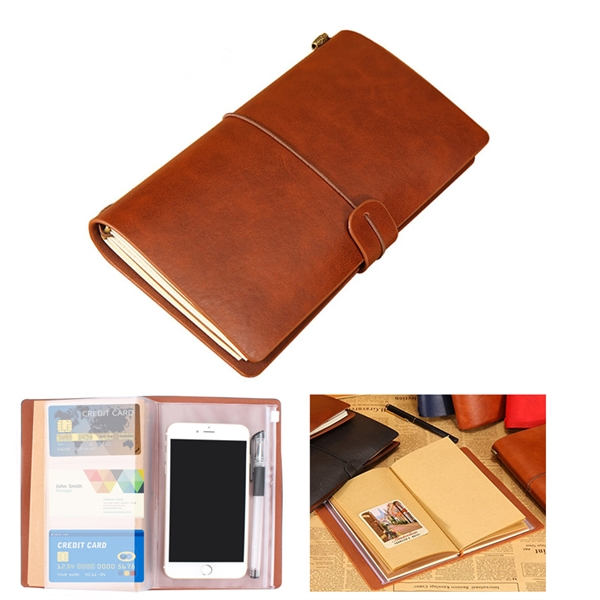 Leather Notebook Journal Diary Notebook