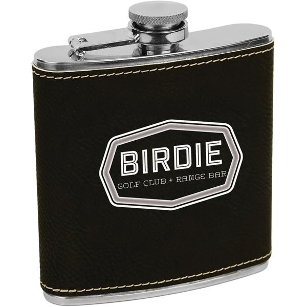 Leatherette Flask