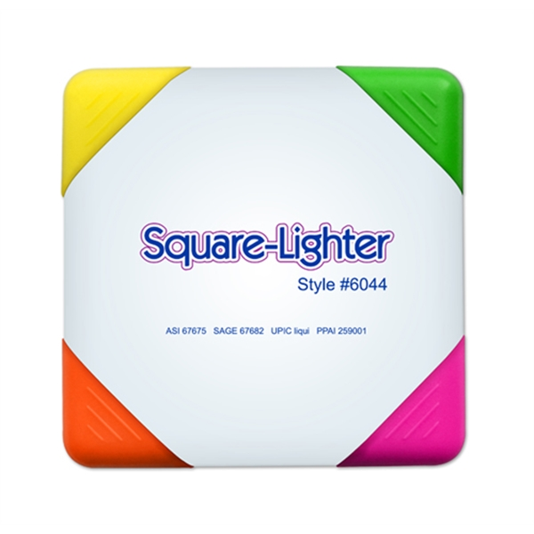 Square Lighter highlighter  4 highlighters in 1