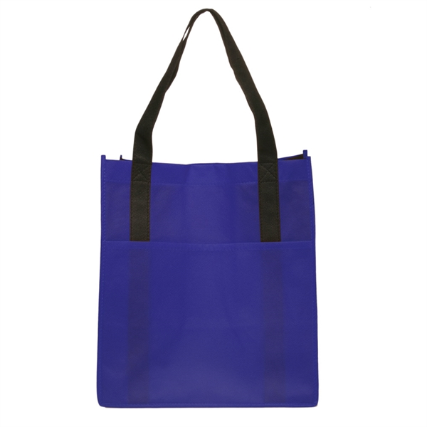 Non-Woven Shoppers Pocket Tote Bag