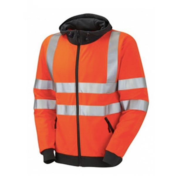 Reflective Safety Construction Hoodie