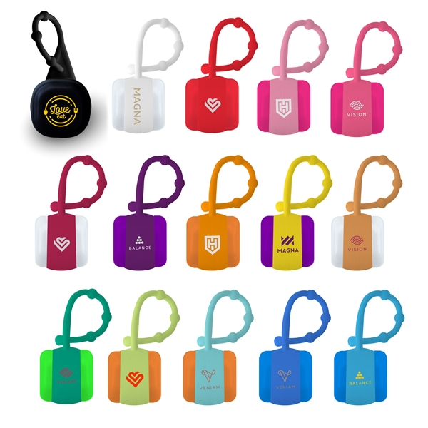 Cube Lip Balm with Carabiner