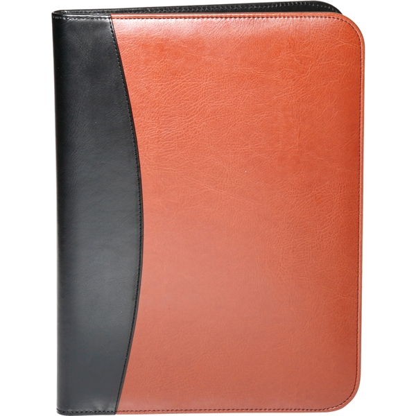 13 in. x 9.75 in. Deluxe Brown Portfolio