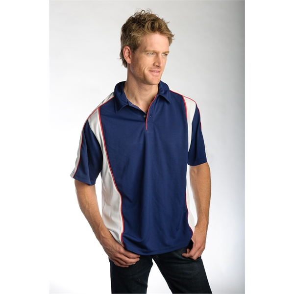 Men's Contrast Pipping Casual Shirt