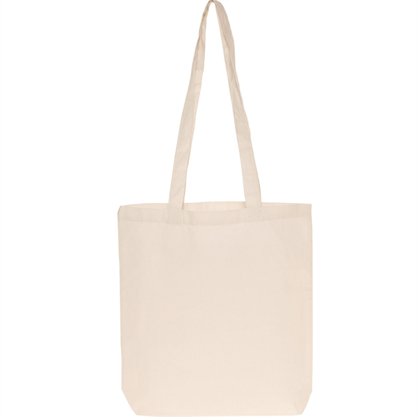 """5 oz. Natural Cotton Bags with 3"""" Gusset"""