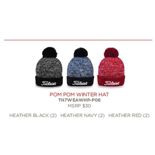 Titleist Pom Pom Winter Hat  fdd992fc9fa