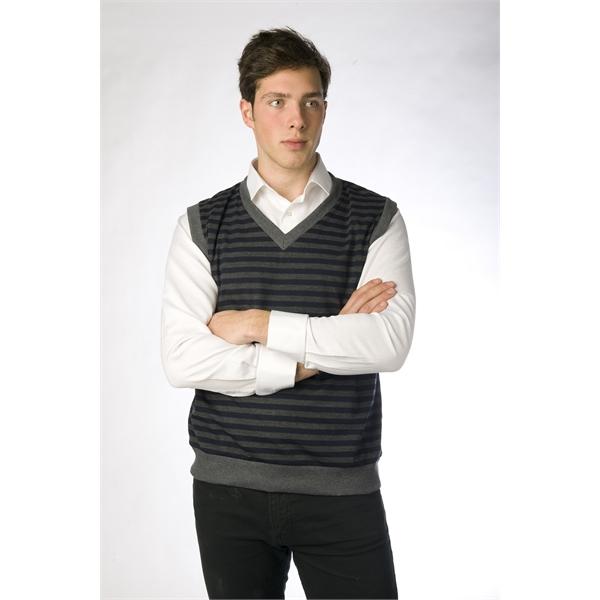 Men's Striped Casual Vest